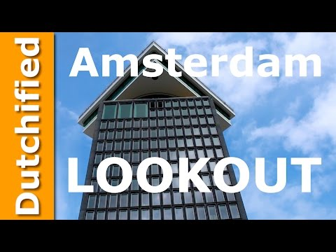 Amsterdam Lookout Tower 360 Panorama