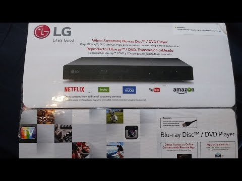 Region Free BD//DVD Player From LG