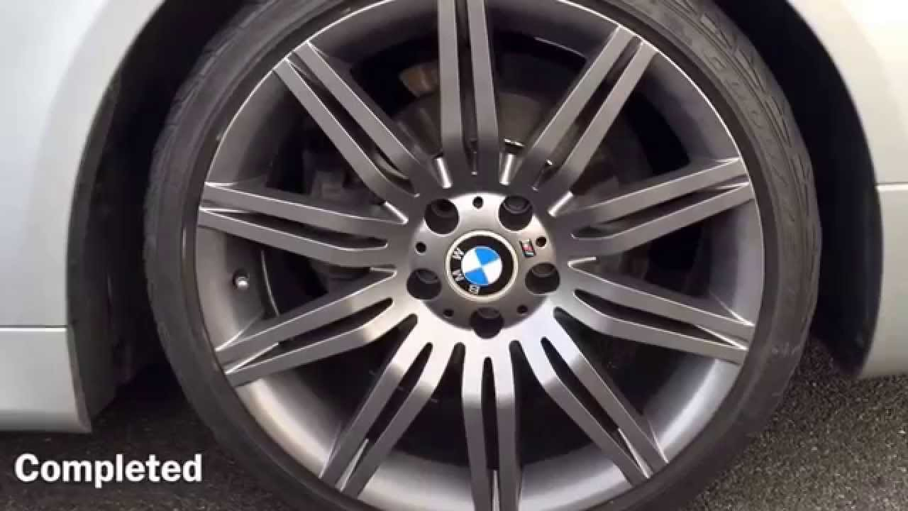 Bmw E60 5 Series Alloy Wheel Refurbishment And Respray