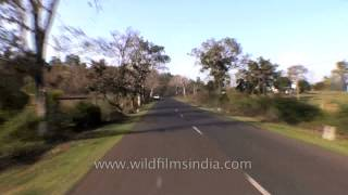 Driving from Jabalpur to Kanha