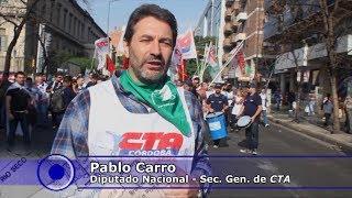 Aniversario del Cordobazo: Marcha contra el ajuste