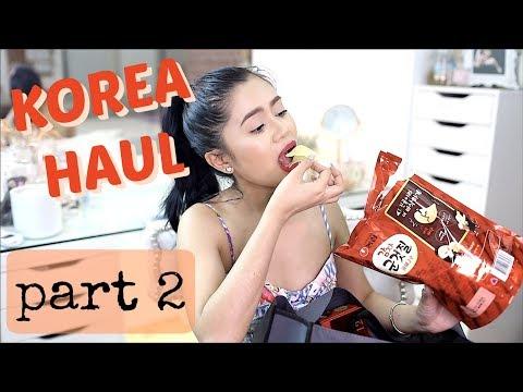 Korea Haul (PART2 + GIVEAWAY) | Anna Cay ♥