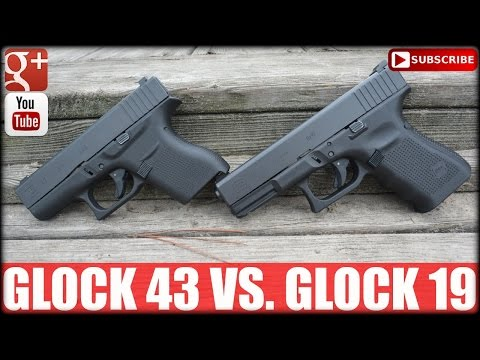 Glock 43 Vs. Glock 19: Single Vs. Double Stack Gun