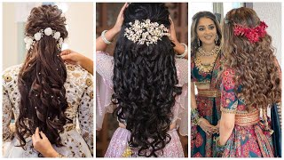 perfact designers extension with Amazing look/hair styles for brides