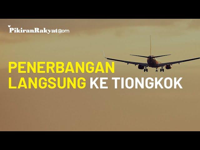 Demi Tingkatkan Wisatawan, Bangka Belitung Buka Penerbangan Langsung ke Tiongkok