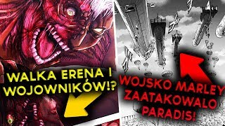 ATAK WOJSKA MARLEY NA WYSPĘ PARADIS! JAKI JEST CEL TYTANA ZWIERZĘCEGO? - Attack On Titan 116,117