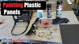 How to Paint Interior Panels Part 2 (Nissan 350Z Radio and Shifter bezels)
