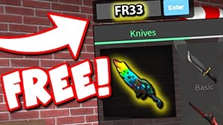 FREE EXOTIC KNIVES IN ROBLOX ASSASSIN!!