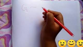How to draw pictures with alphabet