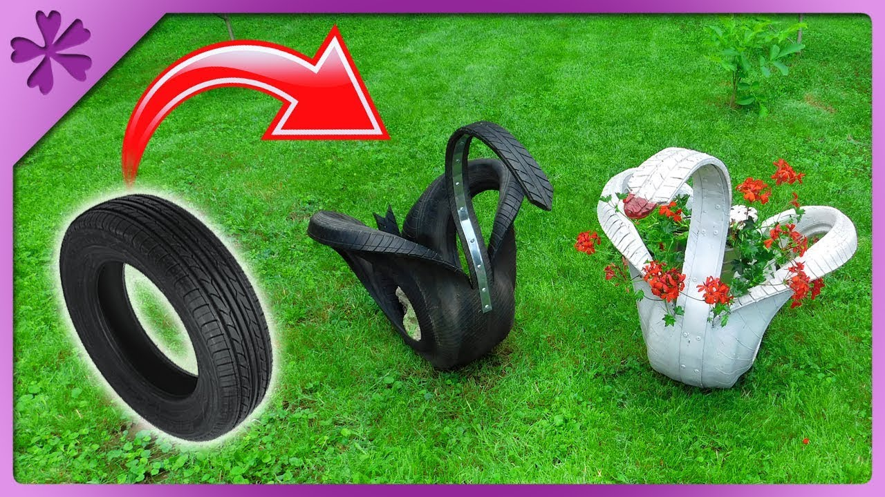 Tire swan. How to do it yourself 90