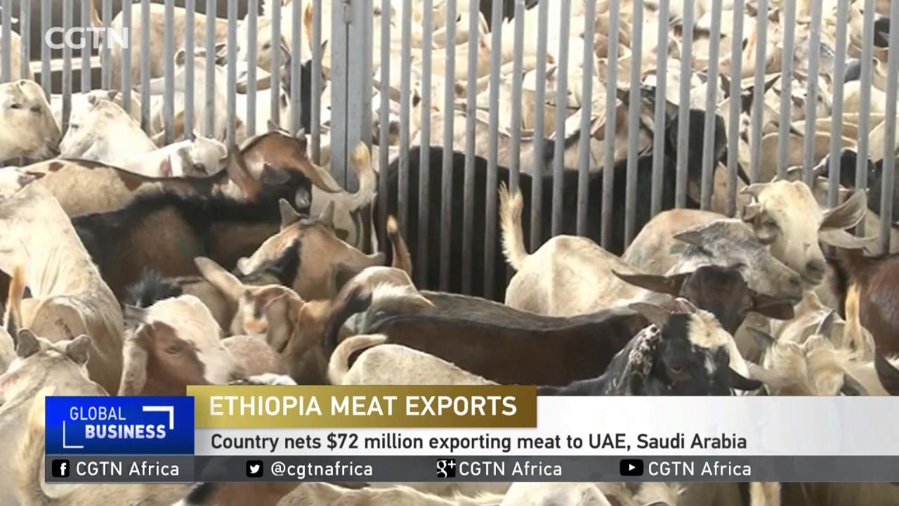 Ethiopia nets $72 million from meat exports to UAE, Saudi Arabia