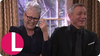 Jamie Lee Curtis' Antics Give Daniel Craig the Giggles and Derails the Interview | Lorraine