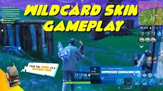 NEW WILDCARD SKIN GAMEPLAY + HEIST LTM AND GRAPPLING HOOK IN FORTNITE