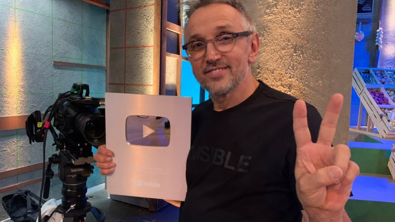 GRAZIE RAGAZZI! [100K ISCRITTI - YOUTUBE CREATOR AWARD] - CHEF BRUNO BARBIERI