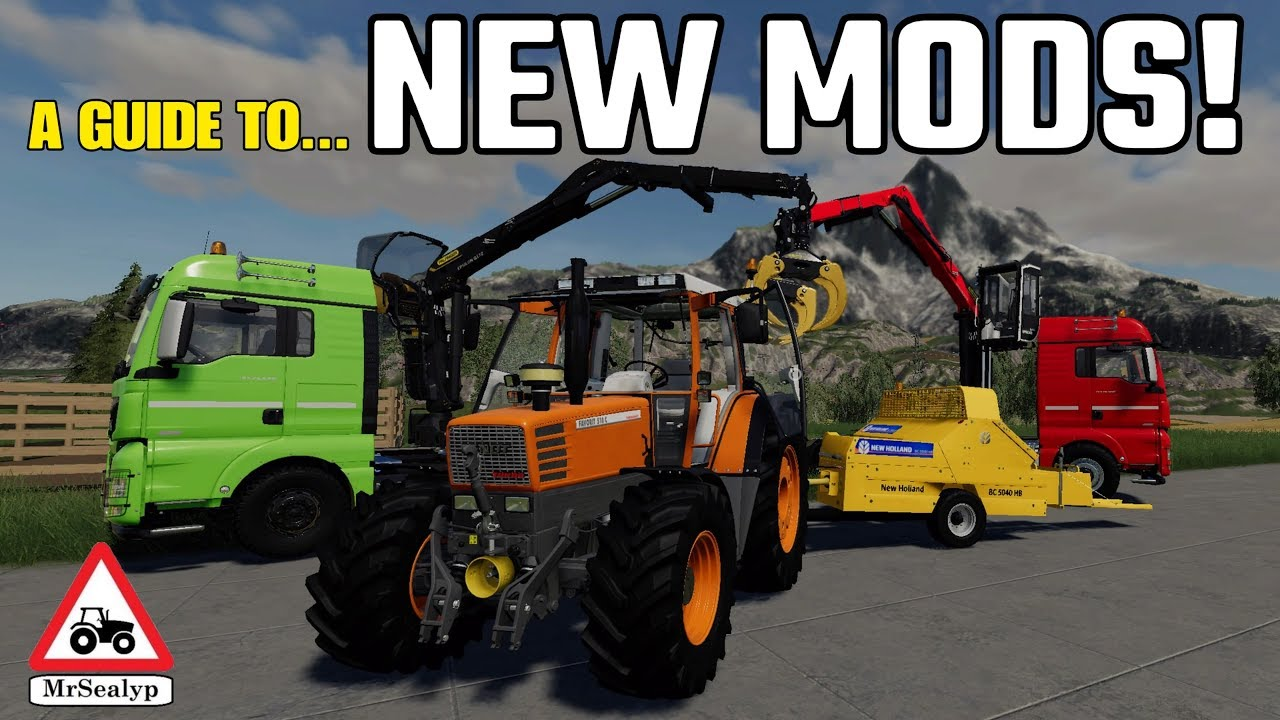 A GUIDE TO    NEW MODS! 21st June 2019, Farming Simulator 19, PS4,  Assistance!