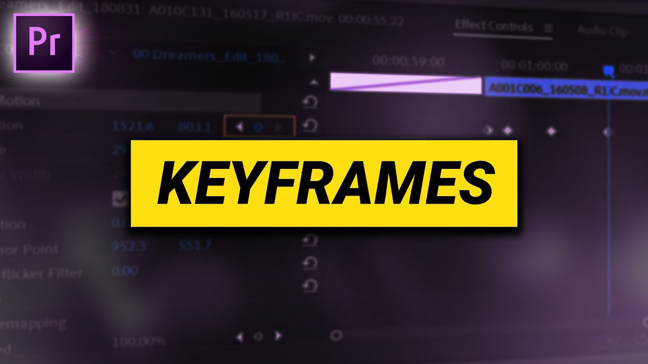 How to ANIMATE with KEYFRAMES (Premiere Pro Tutorial)