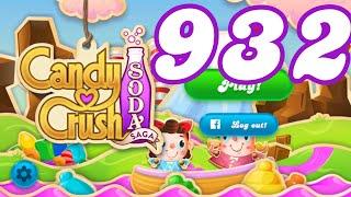 Candy Crush Soda Saga Level 932 No Boosters