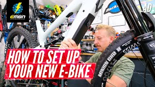 How To Set Up & Shakedown A New E-MTB | YT Decoy Unboxing Part 2
