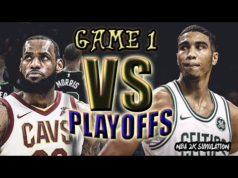 Cleveland Cavaliers vs Boston Celtics -  FULL GAME | Game 1 | May 13 | FINALS CONFERENCE | NBA 2K18