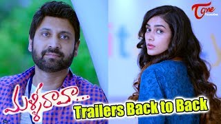 Malli Raava Movie Trailers Back to Back   Sumanth, Aakanksha Singh