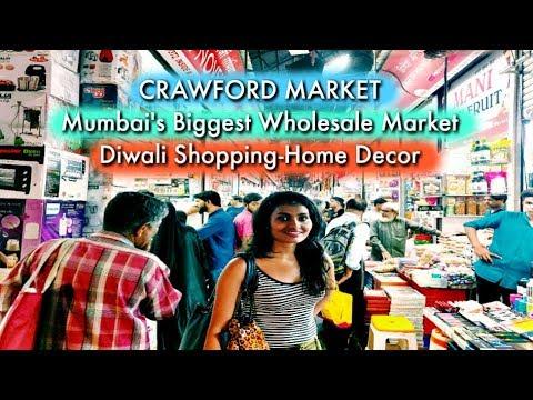 Crawford Market: Mumbai's Biggest Wholesale Market for Diwali Shopping & HomeDecor | Priyanka Mehra