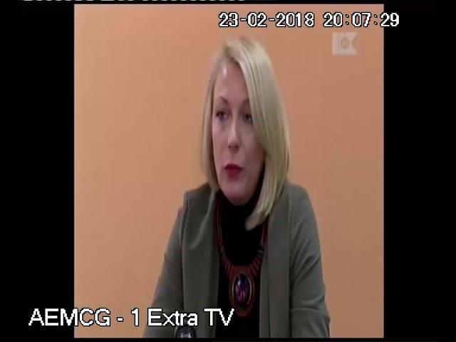 23  februar  2018 TV Nikšić   Dnevnik  Medijska pismenost   Sunčica Bakić