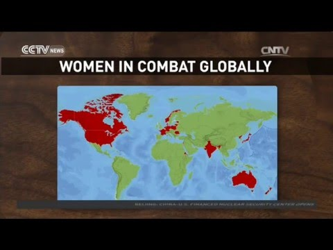 19 countries allow women to serve in combat role