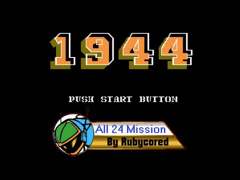 1944 (1989, NES; 1943: The Battle of Midway) - Full Longplay (Take 1)
