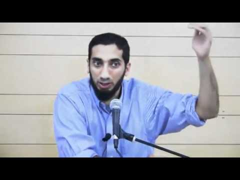 Meeting your Wife in Paradise - Nouman Ali Khan (SUPER FUNNY)