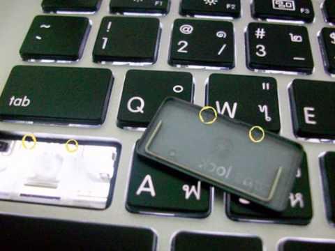 ปุ่มคีย์บอร์ดโน๊ตบุต,Macbook,ปุ่มหลุด ,ปุ่มหาย,ปุ่มหายเป็นบางปุ่ม รับซ่อมจร้า 0859709889,0863779846