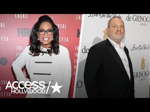 Oprah Slams Harvey Weinstein's 'Hideous Behavior'   Access Hollywood