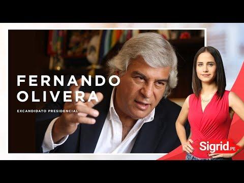 Fernando Olivera, excandidato presidencial en Sigrid.PE