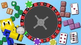 Casino Mod mit 30+ Spielen! (Tetris, Roulette, Snake, 2048)