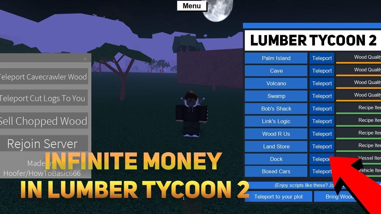 ROBLOX - INFINITE MONEY IN LUMBER TYCOON 2 (Working) Lumber GUI, Lumber  InstaChop and MORE! (Apr 24)