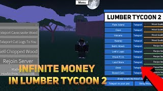 ROBLOX - INFINITE MONEY IN LUMBER TYCOON 2 (Working) Lumber GUI, Lumber InstaChop and MORE! (Apr 24)