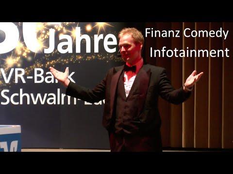 Finanz Comedy Programm Kundenveranstaltung Bank und Versicherung