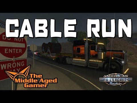 American Truck Simulator - Arizona DLC - Cable Run