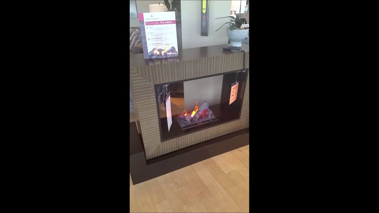 See Through Electric Fireplace. Elegant Dimplex Electric ...