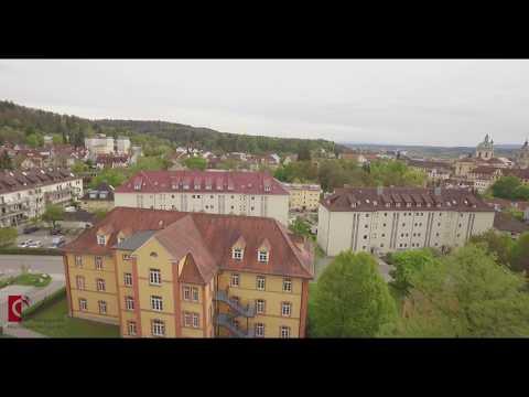 Pädagogische Hochschule Weingarten aus der Vogelperspektive