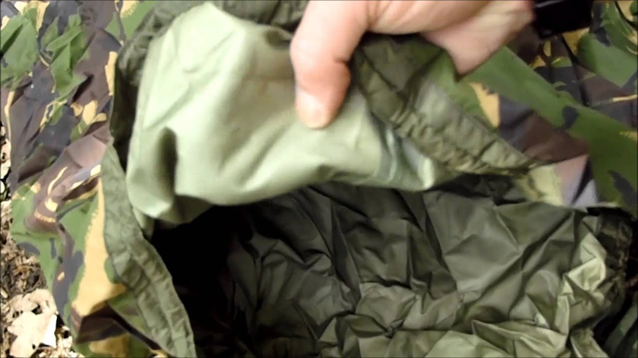 Bushcraft Budget Army Surplus Vol 2 Bivi Bag