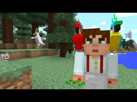 Minecraft Xbox - My Story Mode House - Parrot Prince!