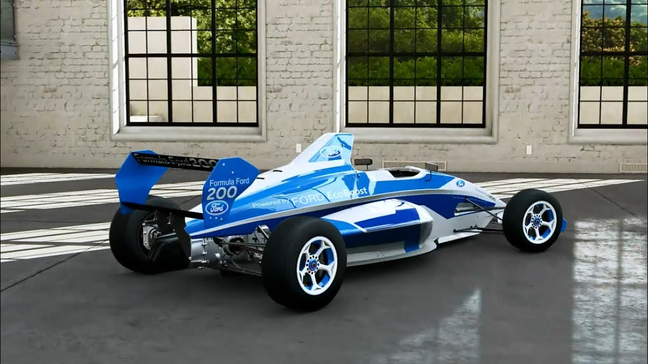 Forza Motorsport 5 - 2013 Ford Formula Ford EcoBoost 200 - YouTube
