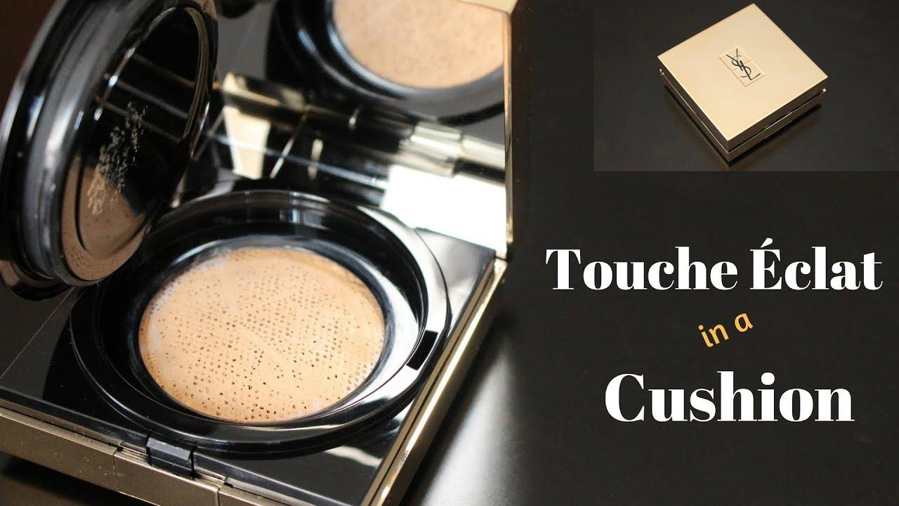 Ysl Touche Eclat Le Cushion Foundation Review Application Angela Van Rose