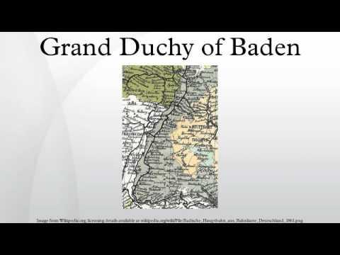 Grand Duchy of Baden