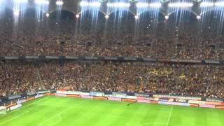 Romania - Ungaria, imnul Romaniei cantat de intregul stadion