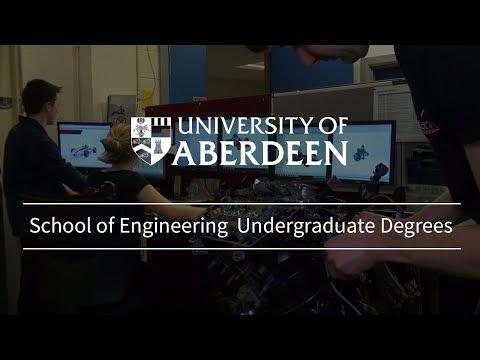University Of Aberdeen School Of Engineering Undergraduate Study