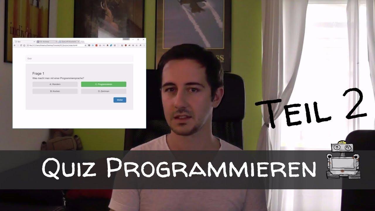 Quiz Programmieren