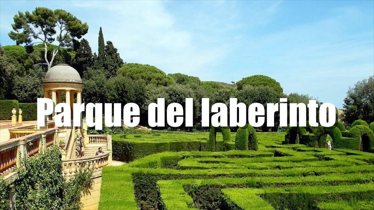 Parque del laberinto labyrinth park barcelona youtube for Parques de barcelona