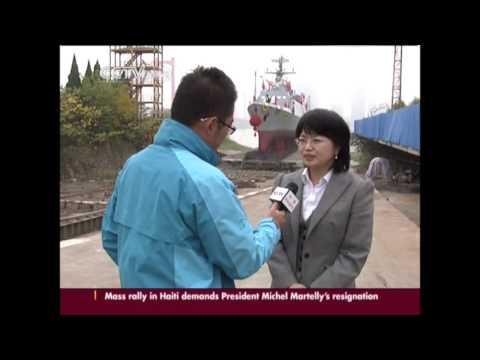 China builds advanced warship for Bangladesh