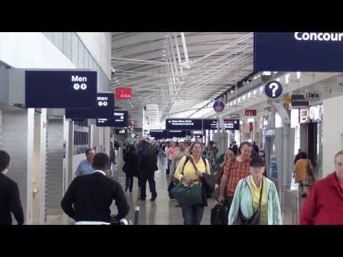 A Tour Of Detroit Metropolitan Airport's Mile-Long Terminal A (September 2013)
